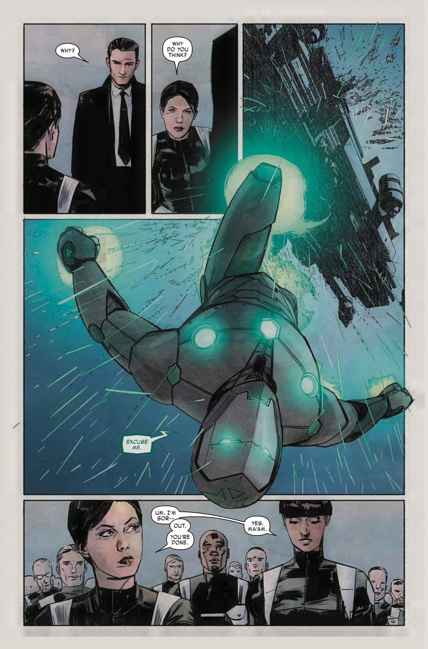 Infamous Iron Man #4 Review