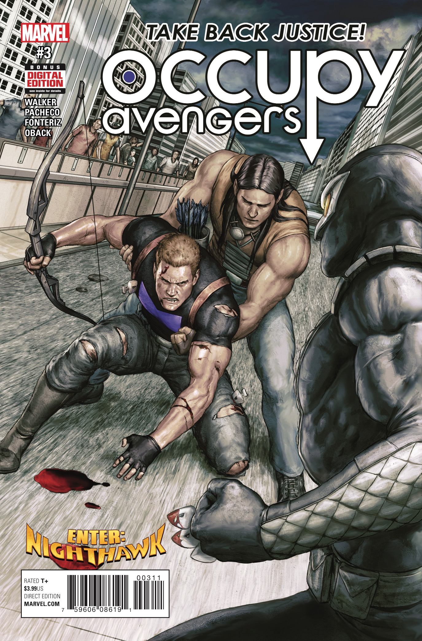 Marvel Preview: Occupy Avengers #3