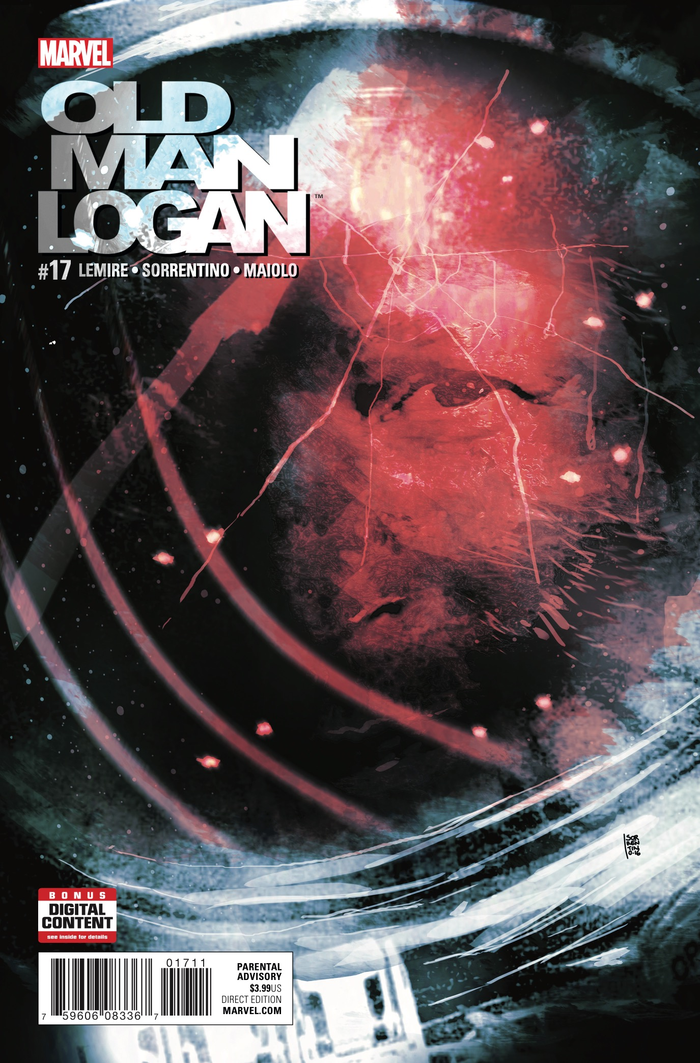 IT'S OLD MAN LOGAN VERSUS A THOUSAND BROOD – WHO DO YOU PUT YOUR MONEY ON?! I don't know about you, but I think those Brood are about to learn a lesson or two. Meanwhile, the WASTELANDS are about as bad as LOGAN remembers them being…which is twice as terrible, as Logan distinctly remembers escaping this specific nightmare dystopia. How did he return to the Wastelands? And will he be able to escape a second time?