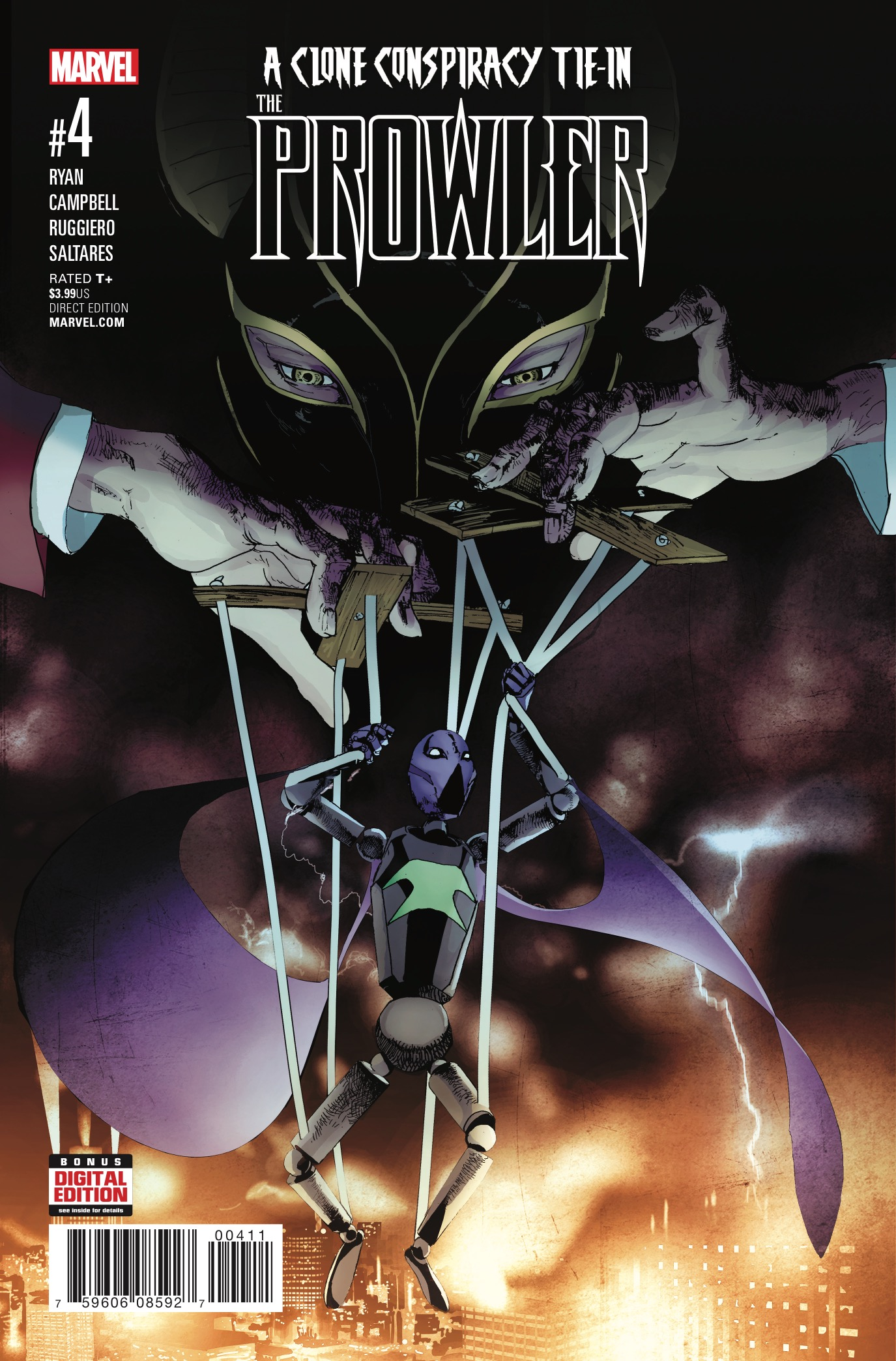 Marvel Preview: Prowler #4