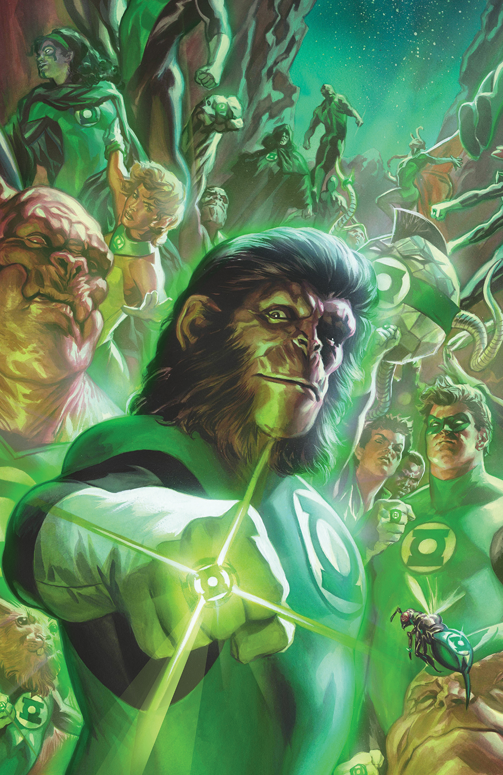 BOOM! Preview: Planet of the Apes/Green Lantern #1