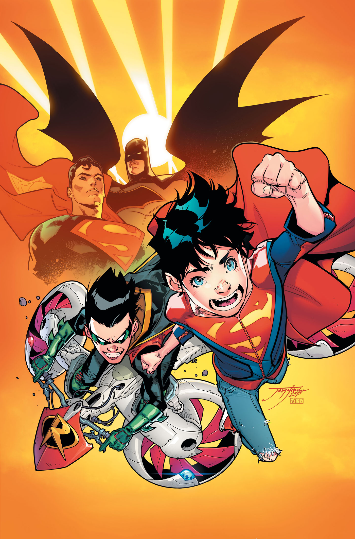 DC Preview: Super Sons #1