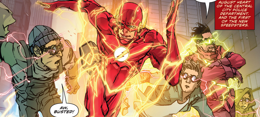 One of the Rebirth titles that took me by surprise was The Flash.  I have generally always liked reading Flash, but it never particularly stuck with me.  Williamson's run, however, definitely caught my eye. Now that his first volume is collected, let's take a look.