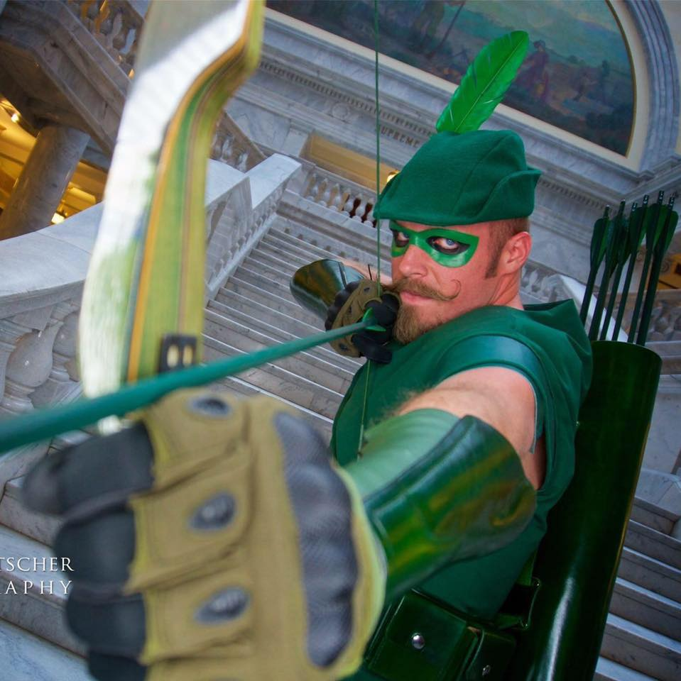 Green Arrow Cosplay by SLC Green Arrow