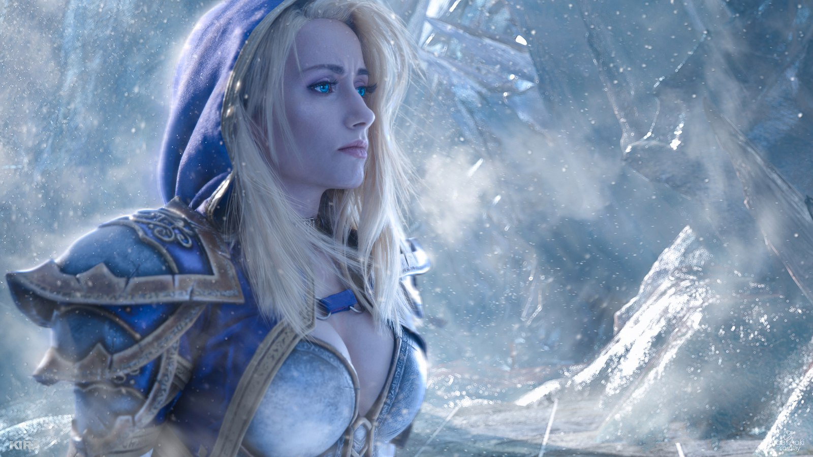 World of Warcraft: Arthas and Jaina Frozen Throne Cosplay by Aoki and Narga