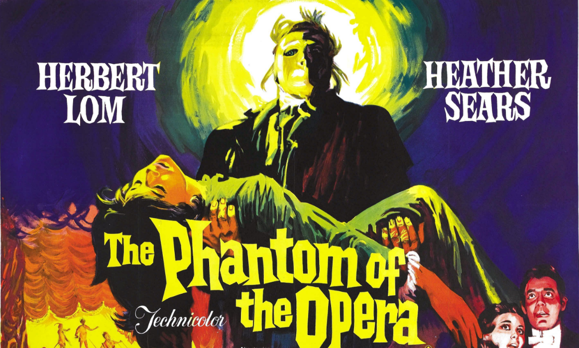 The Phantom of the Opera is a story that's been told so many times, it's hard to sift the gold from the dirt. Of course, the original 1925 version is a classic, everyone knows that, but what about the remakes? The 1943 version with Claude Rains is generally well-received, but then, so is the dreadful 2004 version featuring Andrew Lloyd Webber's hilarious techno music. And don't even get me started on the Robert Englund version from 1989. But while the remakes fluctuate in quality from fair to foul, there's at least one you can depend on: Hammer's 1962 version.