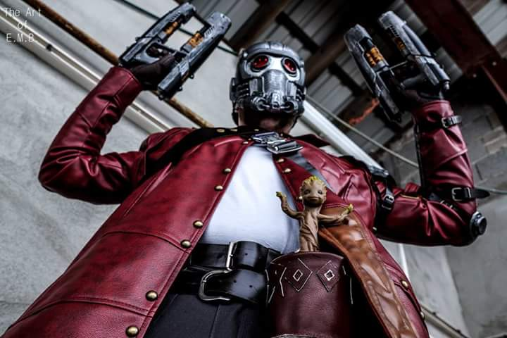 Guardians of the Galaxy: Star-Lord Cosplay by Mummery Comics