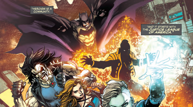 Justice League of America: Rebirth #1 Review