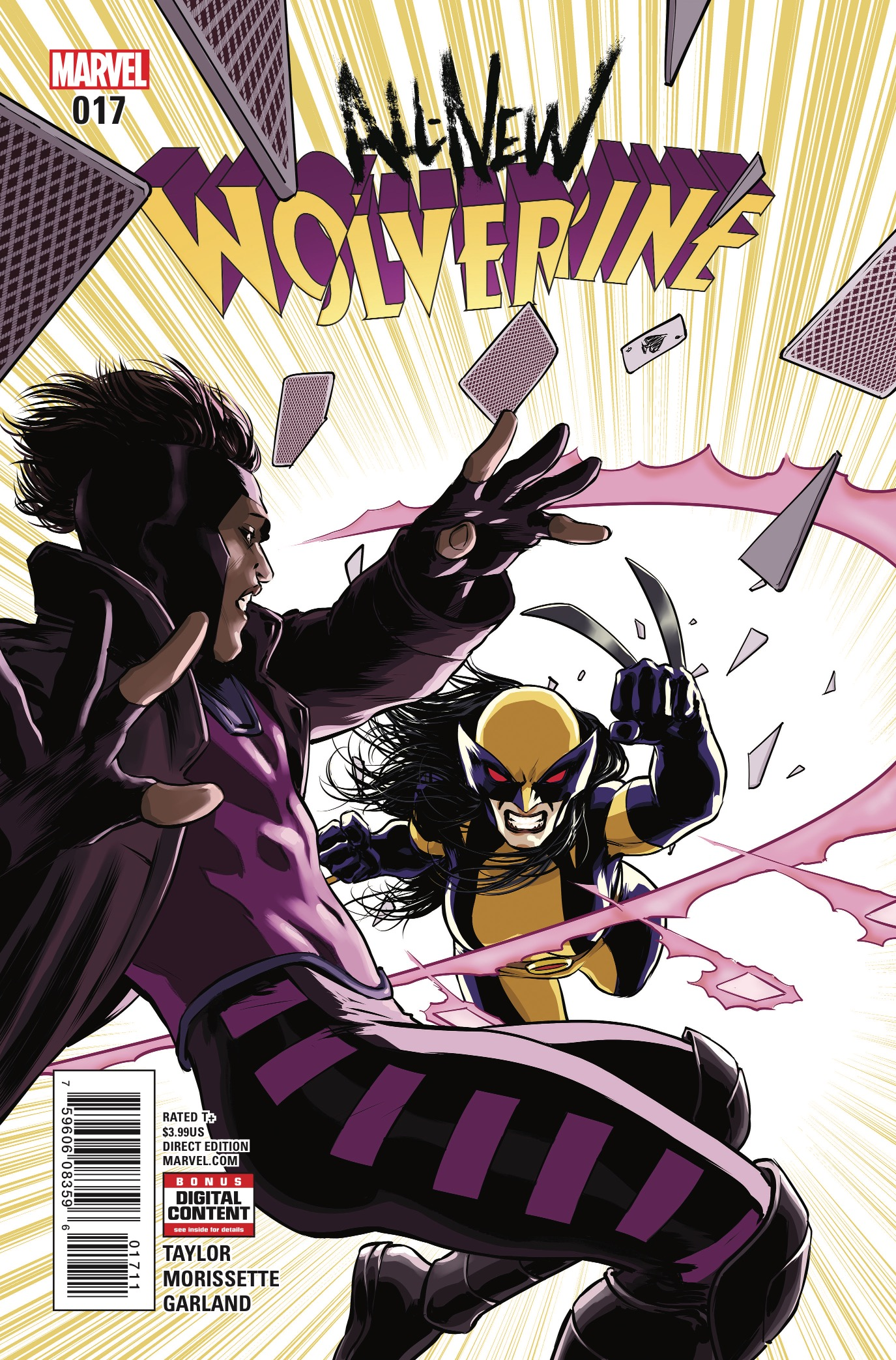Marvel Preview: All-New Wolverine #17