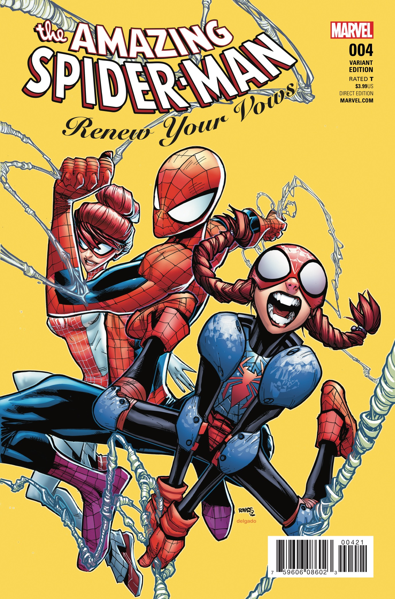 Marvel Preview: Amazing Spider-Man: Renew Your Vows #4