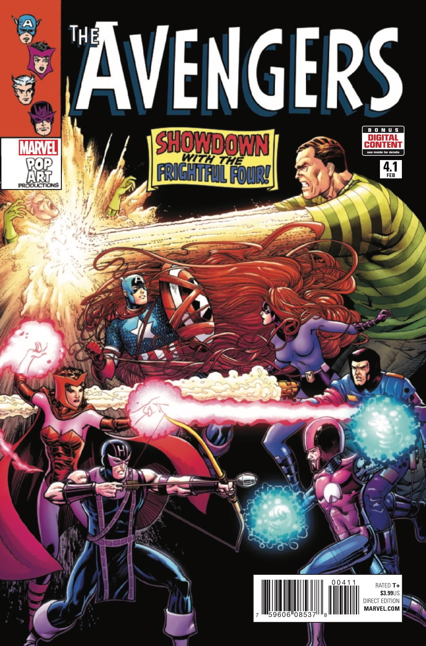 """""""Mighty,"""" """"Uncanny"""" and """"All-New, All-Different"""" are adjectives you're likely to see paired with """"Avengers."""" """"Fun"""" - not so much. But in reality, that's exactly what Avengers #4.1 is - """"Fun Avengers!"""""""