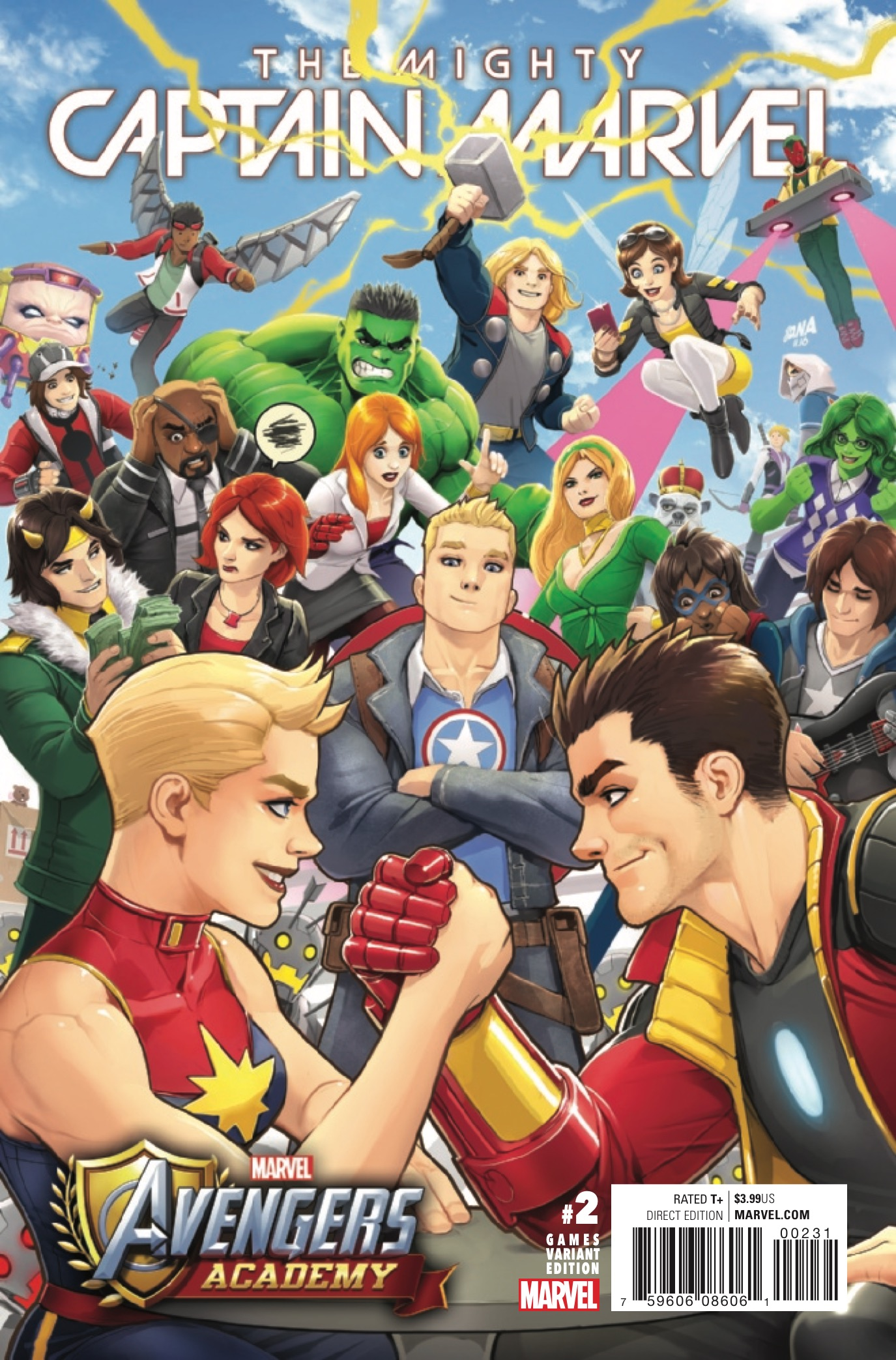 Marvel Preview: The Mighty Captain Marvel #2
