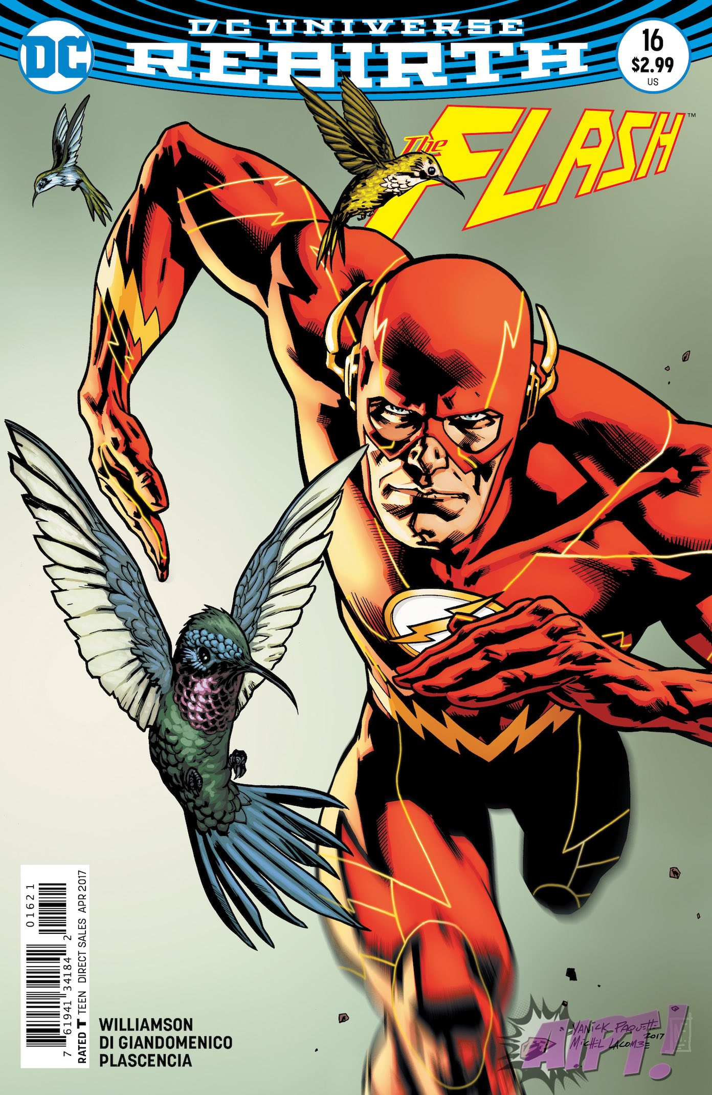 [EXCLUSIVE] DC Preview: Flash #16