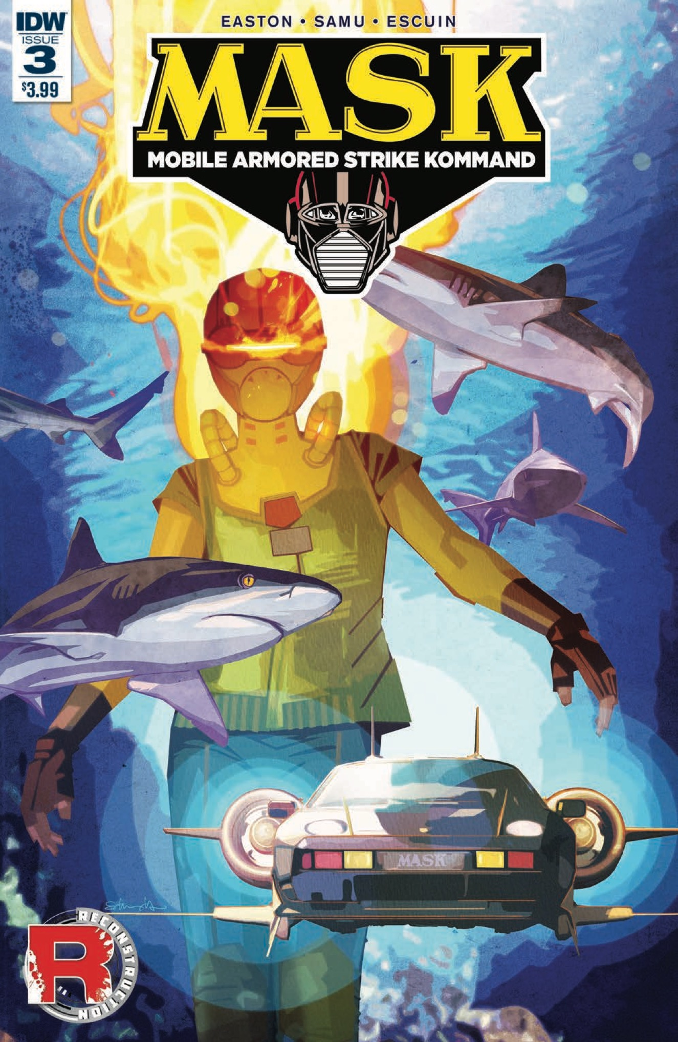 [EXCLUSIVE] IDW Preview: M.A.S.K.: Mobile Armored Strike Kommand #3