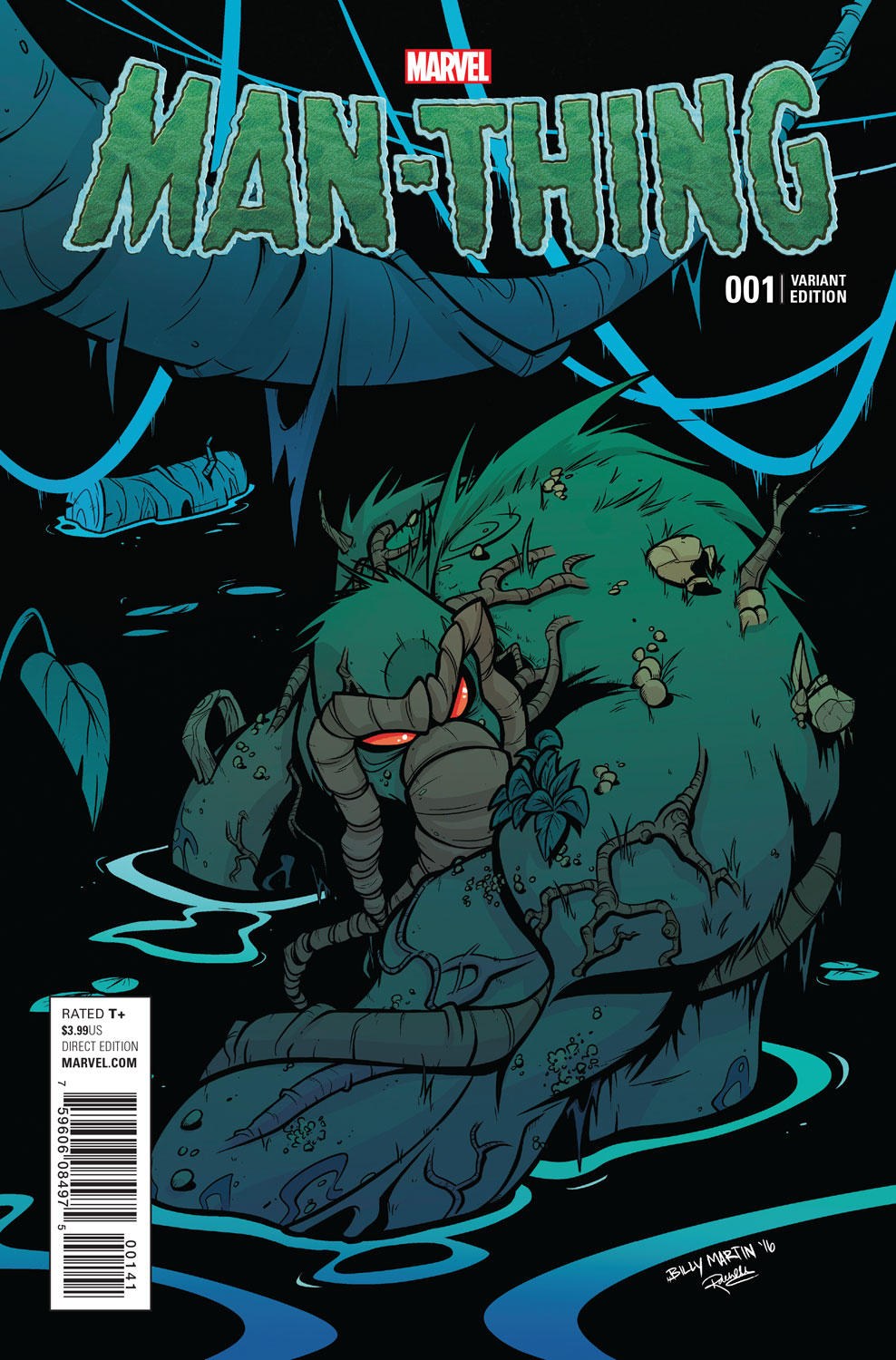 Marvel Preview: Man-Thing #1