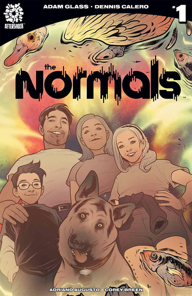 AfterShock Preview: The Normals #1