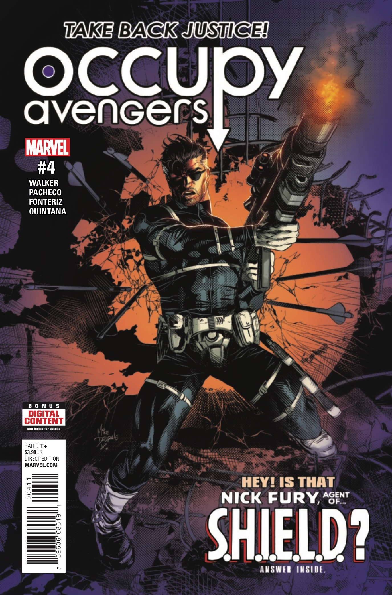 Marvel Preview: Occupy Avengers #4