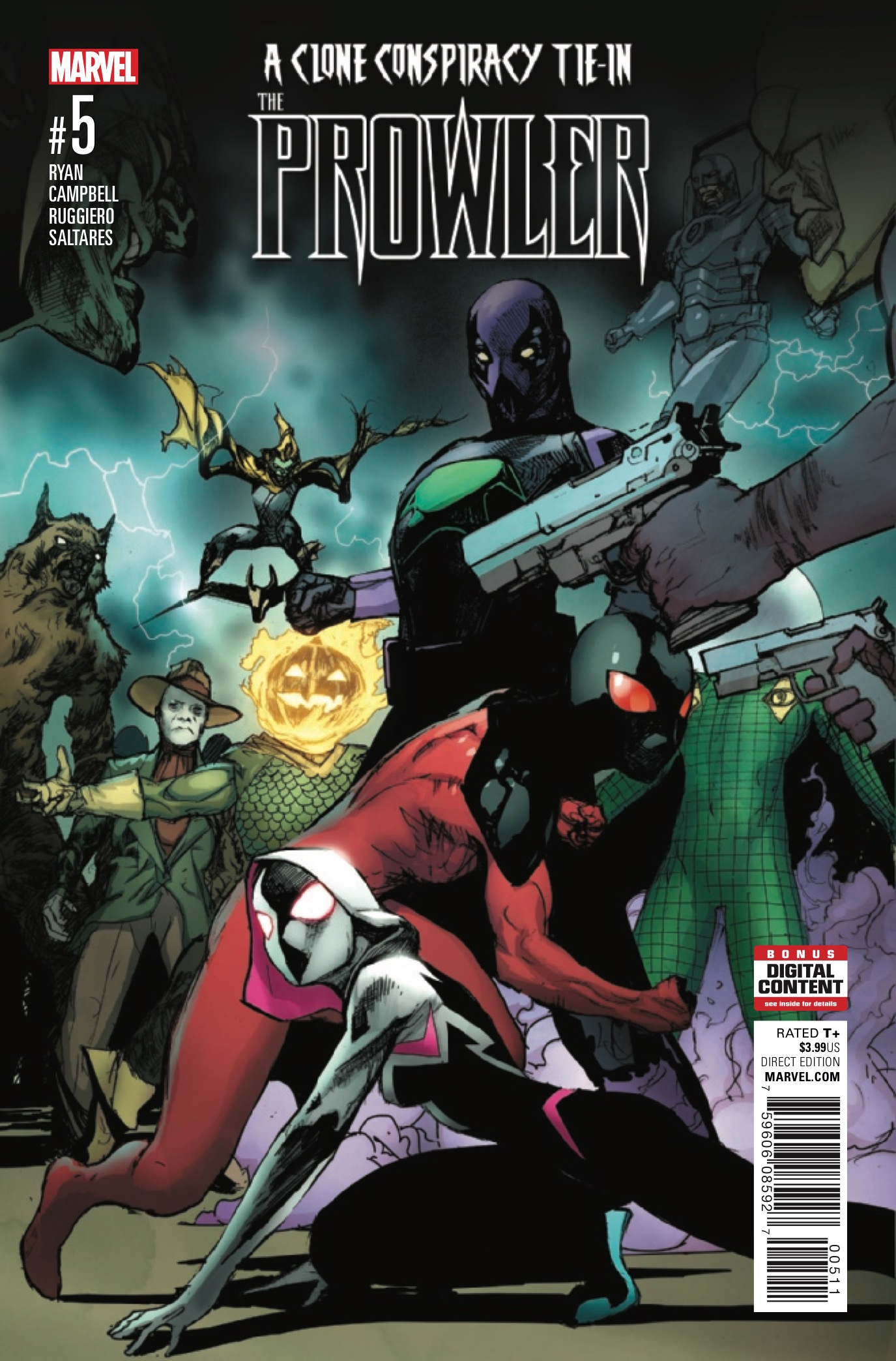 The Prowler #5 Review