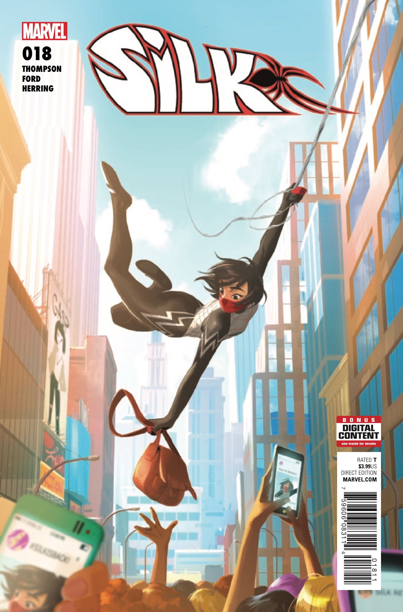 Silk #18 Review