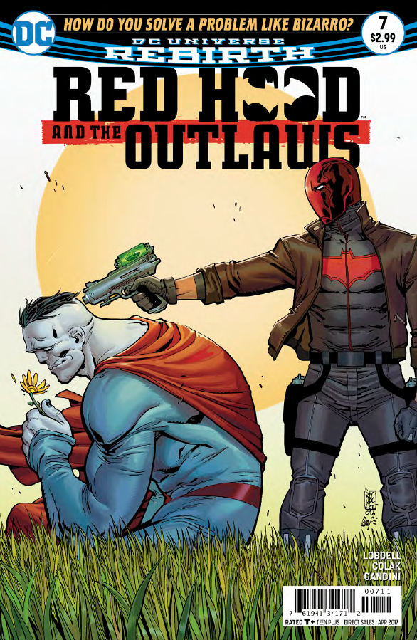 """Based on the cover it's not looking so peachy for this team and they only combined forces last issue! Scott Lobdell continues this story with the """"How Do You Solve a Problem Like Bizarro?"""" story. We check it out to answer the question, is it good?"""