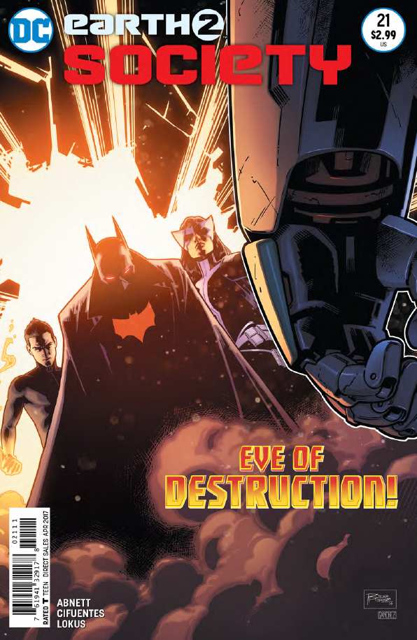 Earth 2: Society #21 Review