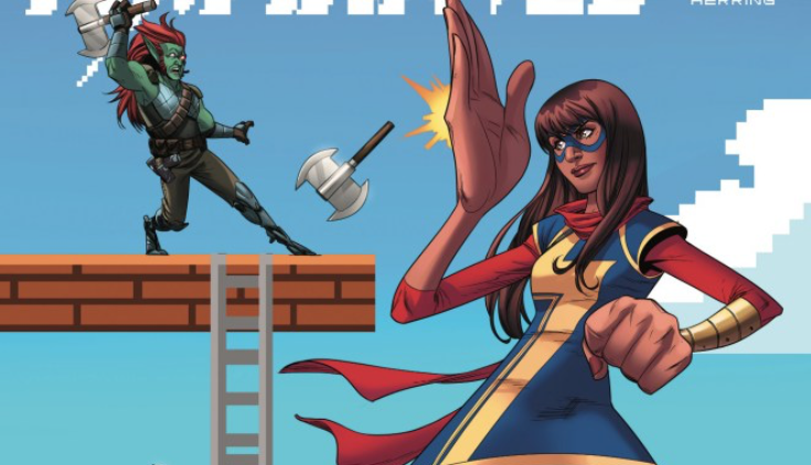 In this issue, Kamala learns her digital enemy's reach goes much further than she realized. Is it good?