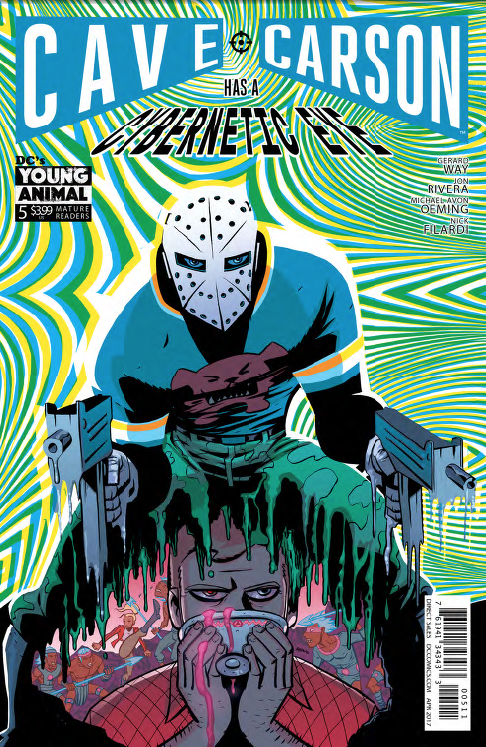 Cave Carson Has a Cybernetic Eye #5 Review