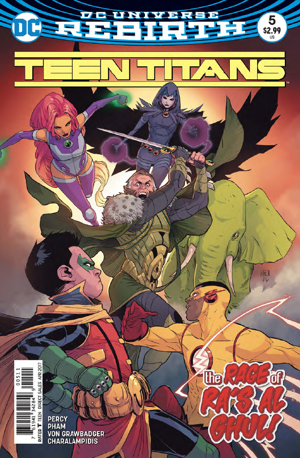 Teen Titans #5 Review