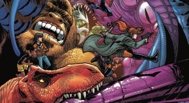 <p>THE BIGGEST EVENT IN MARVEL HISTORY CONTINUES! •  It's an all-out monster brawl on the streets of Manhattan as LEVIATHONS, GOLIATHONS and MARVEL HEROES clash! •  KID KAIJU's powers are put to the test, as ELSA BLOODSTONE and MOON GIRL back him up... •  ...little does anyone know that their true enemy is on her way - and is more than ready for a fight! •  Brought to life by the sensational Salvador Larroca (STAR WARS, DARTH VADER), this action-packed chapter is sure to make your pulse beat faster.</p> Monsters Unleashed #4  <p>Written by: Cullen Bunn Art by: Salvador Larroca Release date: March 1, 2017</p>