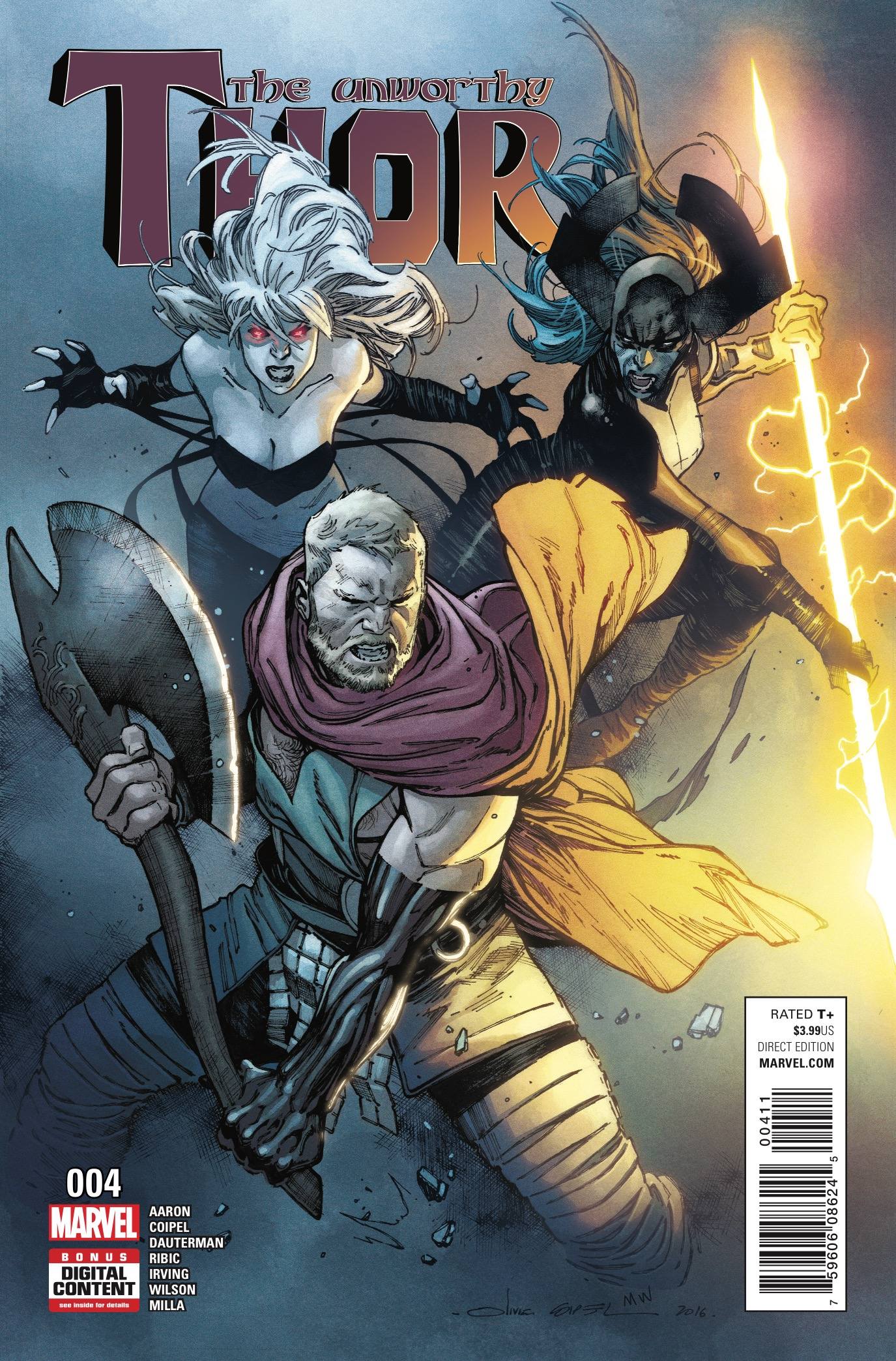 The Unworthy Thor #4 Review