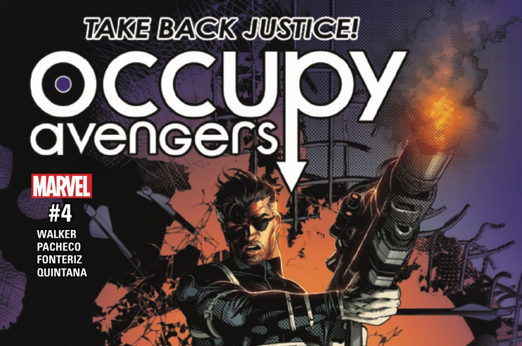 Occupy Avengers #4 Review
