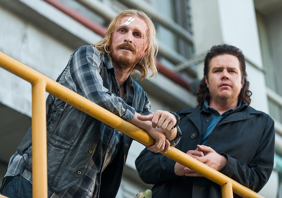 We've had two solid installments of The Walking Dead in a row. Could a Eugene and Dwight centered episode hat trick of the season?