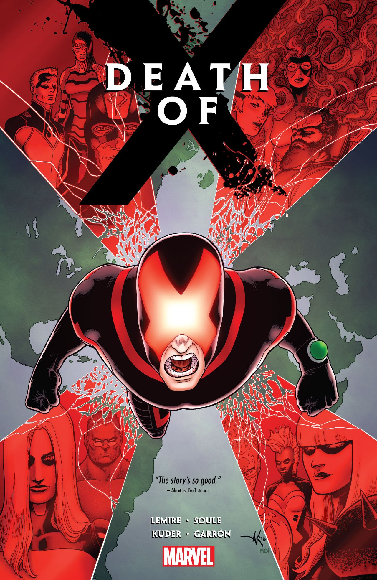 Death of X TPB Review