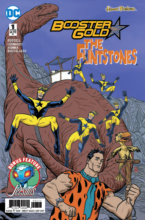 Booster Gold/The Flintstones Special #1 Review