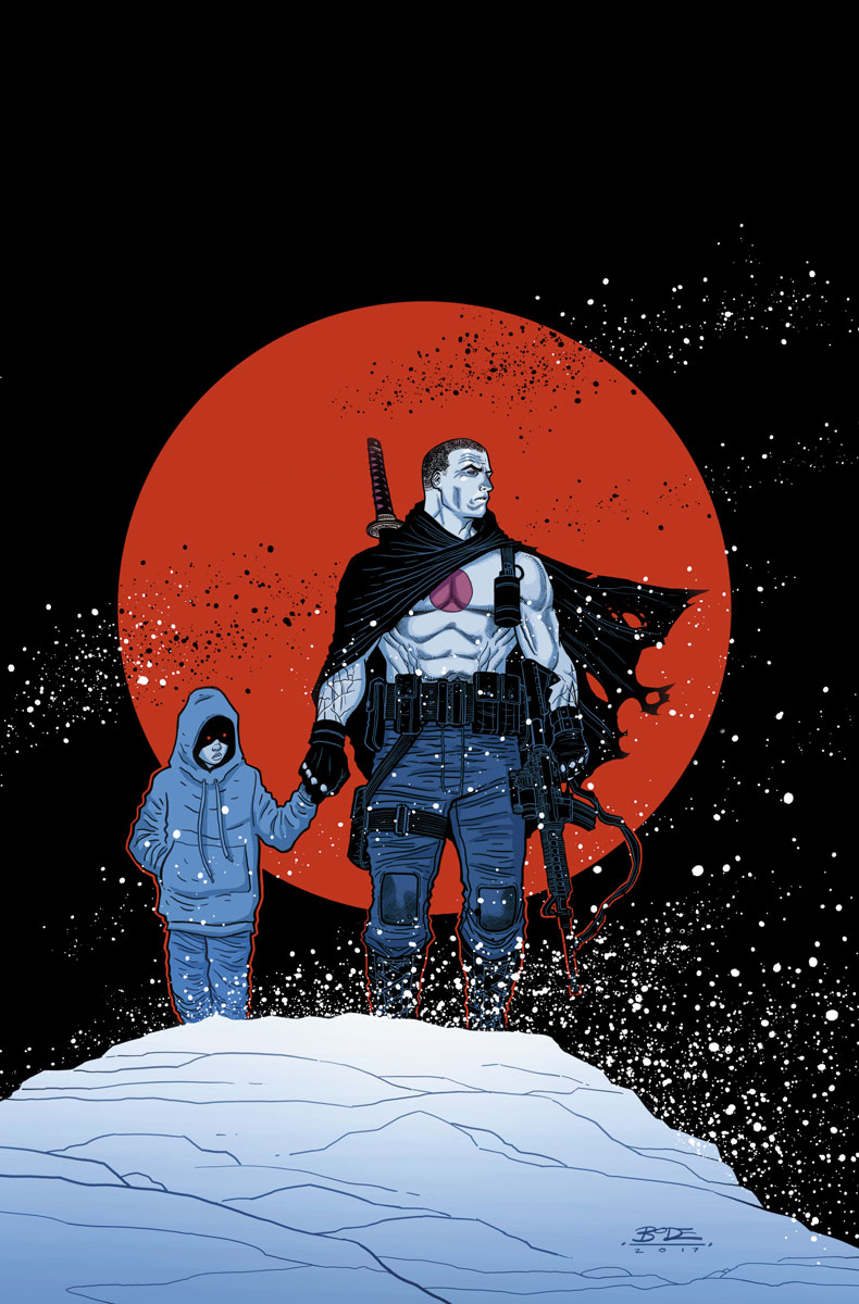 Now: In the arms of his beloved girlfriend Magic, Bloodshot has finally found hope for the future…in the form the couple's unborn child. But when Magic's estranged family – a cruel and sadistic clan of white supremacist criminals – re-emerge to lay claim to their lost daughter, Bloodshot will be pushed back to the brink of madness, mayhem, and warfare…