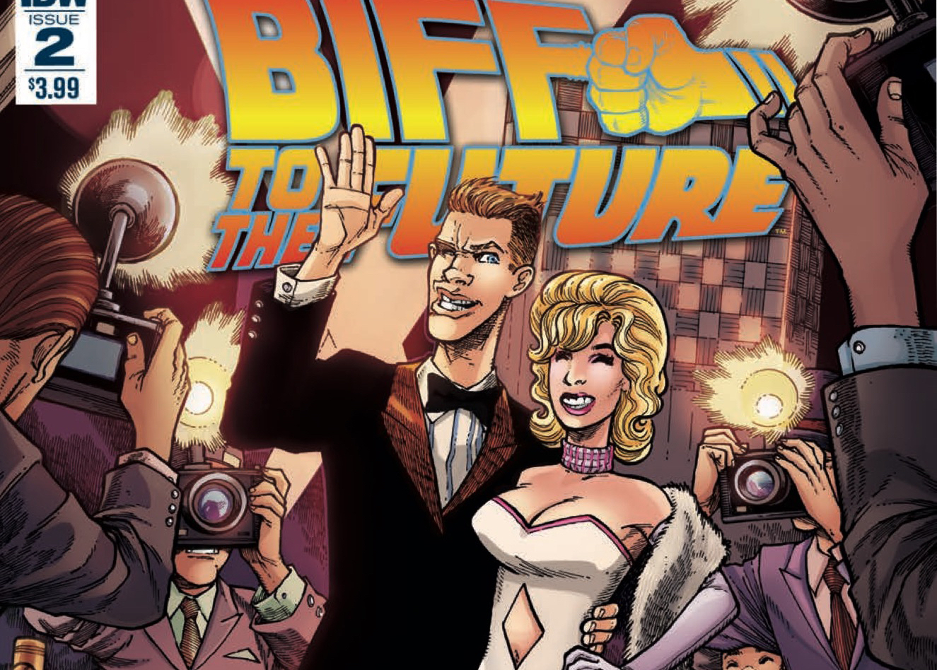 [EXCLUSIVE] IDW Preview: Back to the Future: Biff to the Future #2