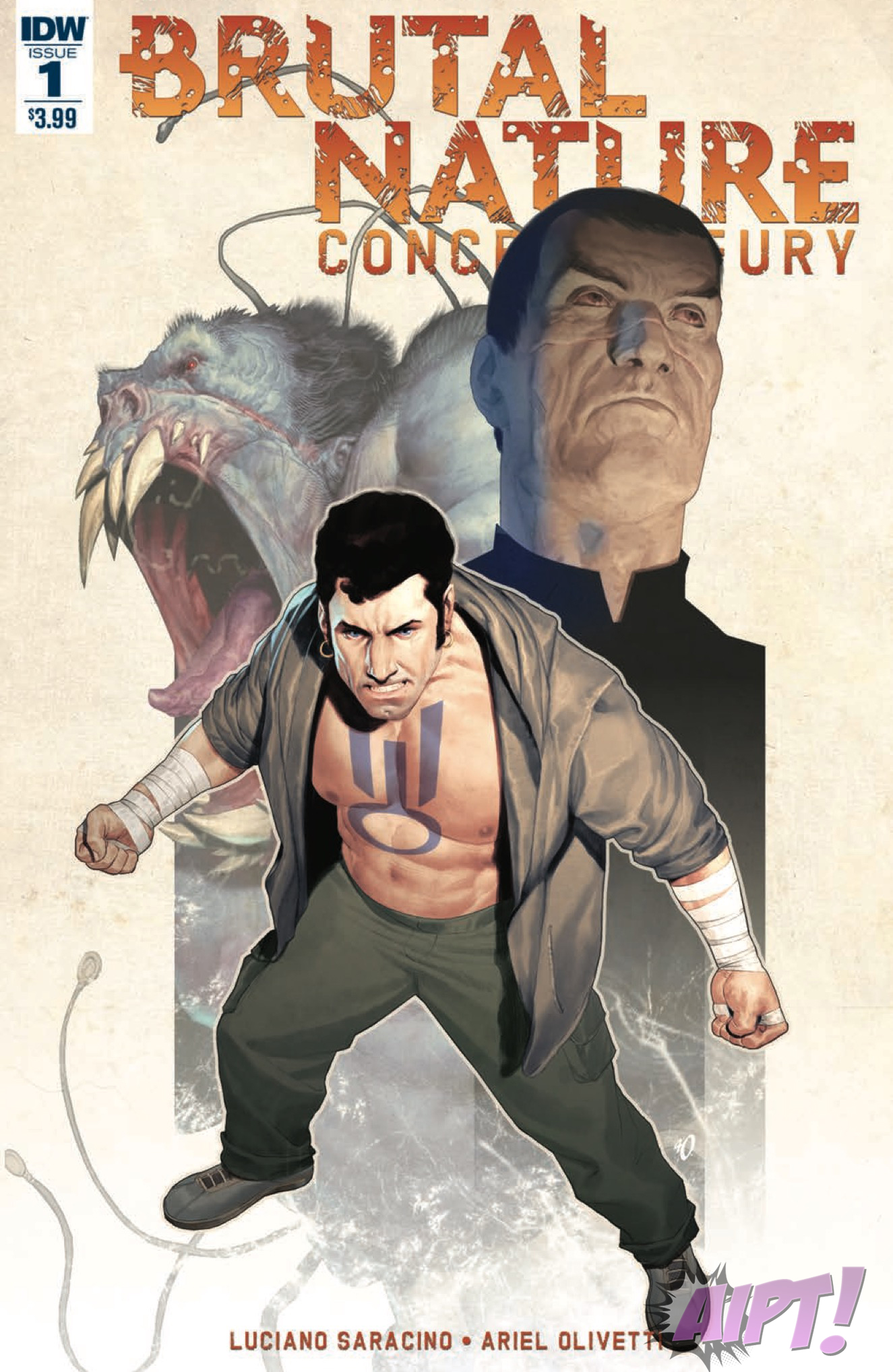 [EXCLUSIVE] IDW Preview: Brutal Nature: Concrete Fury #1