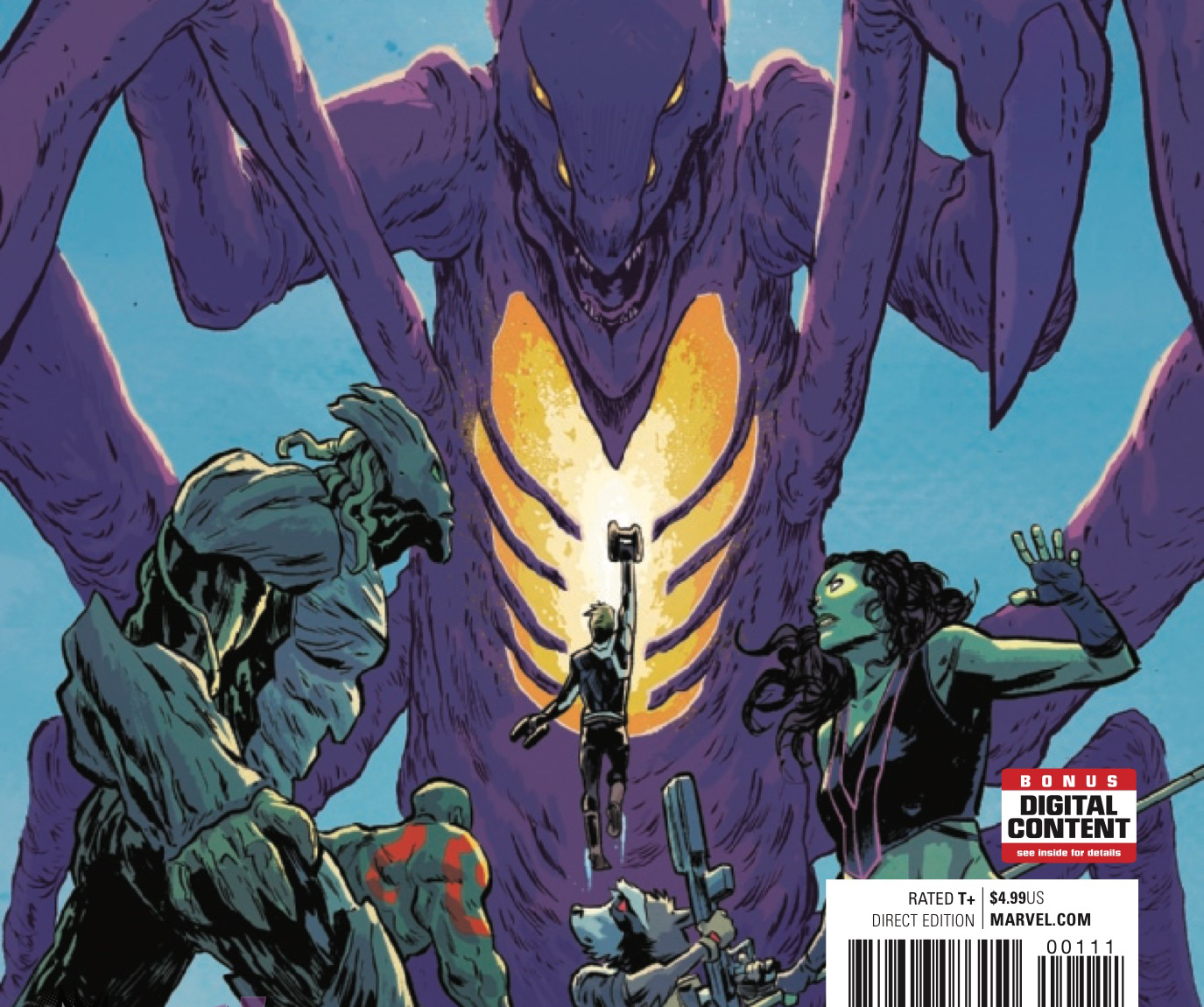 [EXCLUSIVE] Marvel Preview: Guardians of the Galaxy #1.MU
