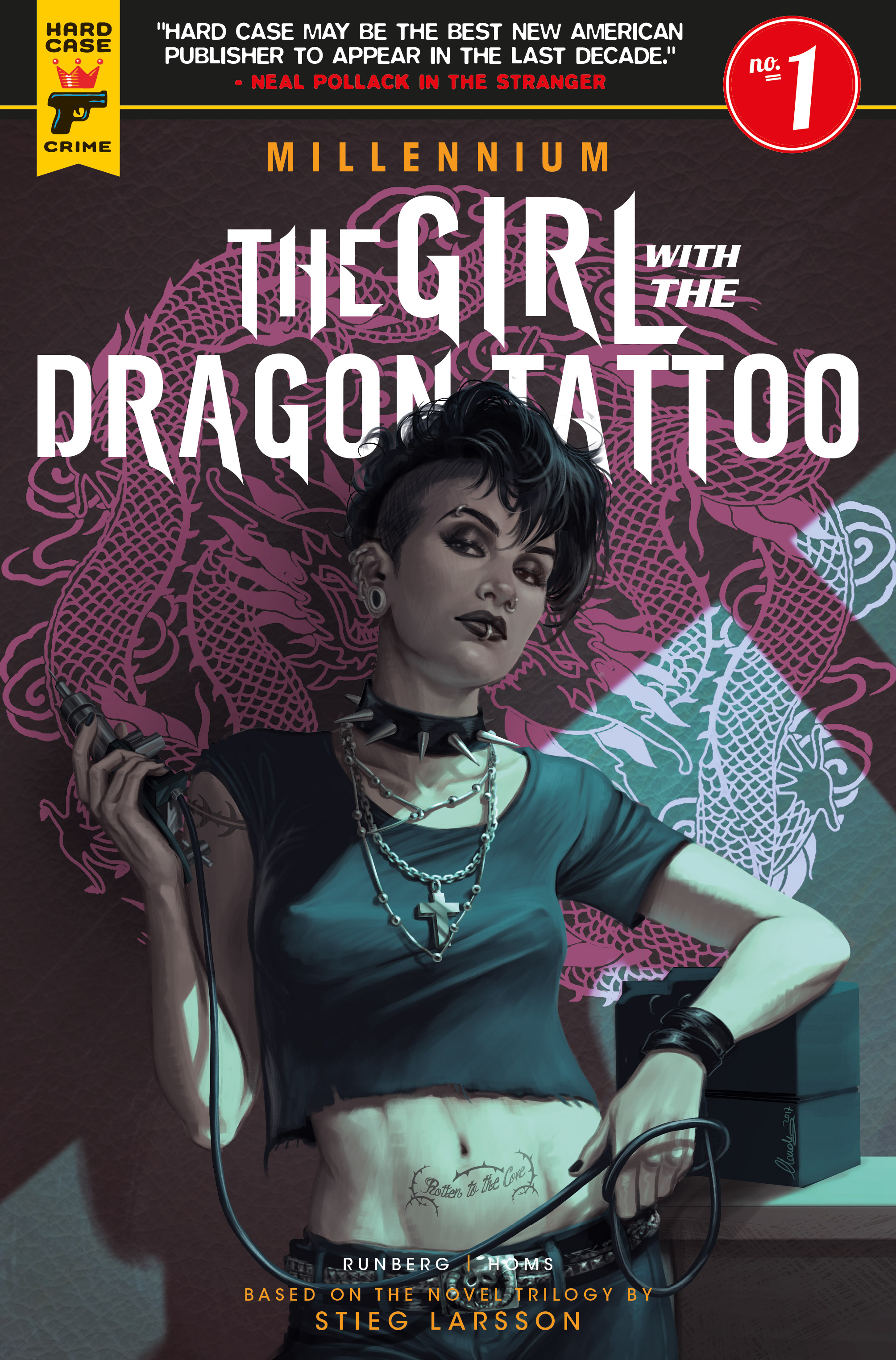 Titan Preview: The Girl With the Dragon Tattoo: Millennium #1