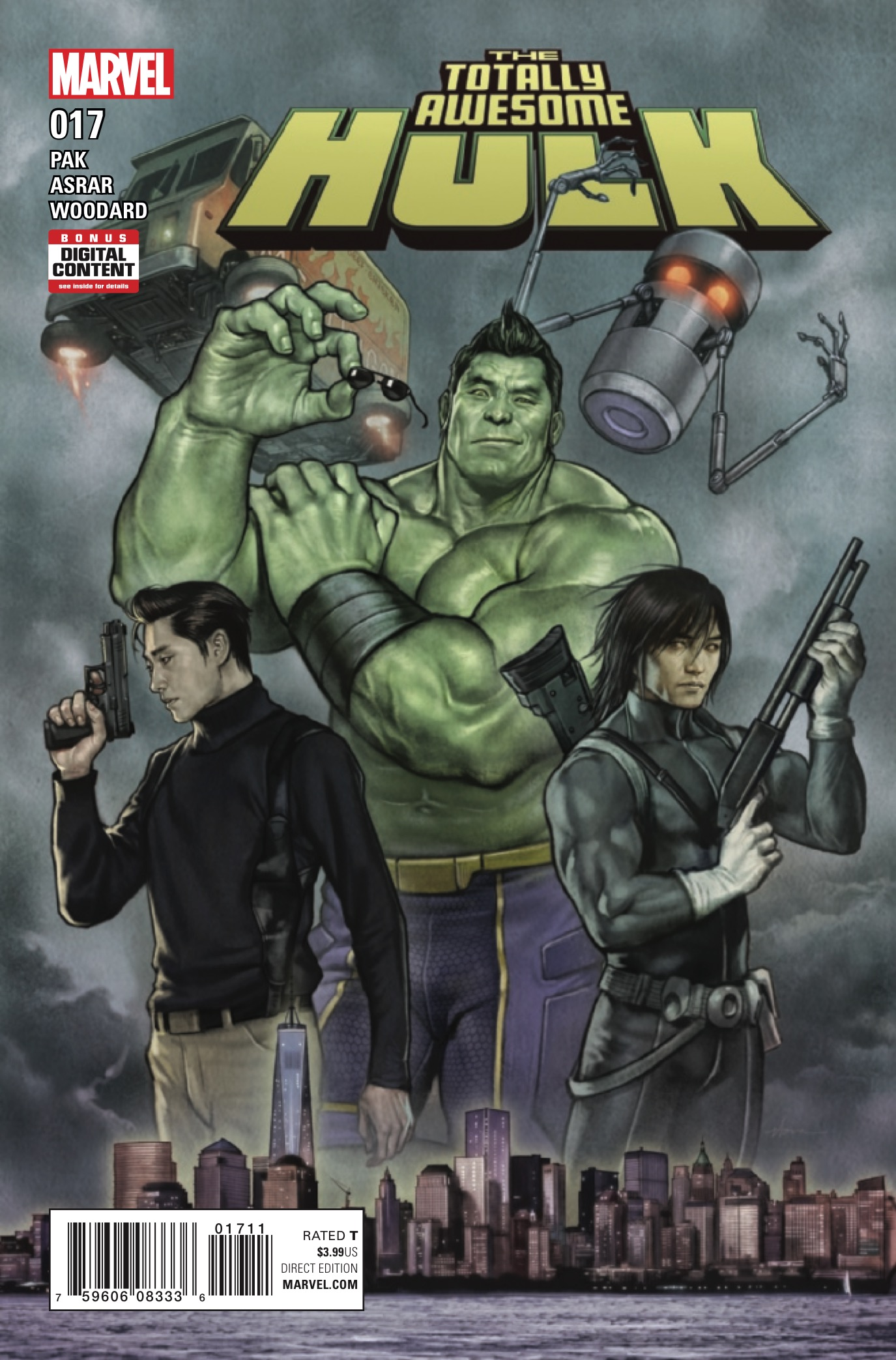 Marvel Preview: The Totally Awesome Hulk #17