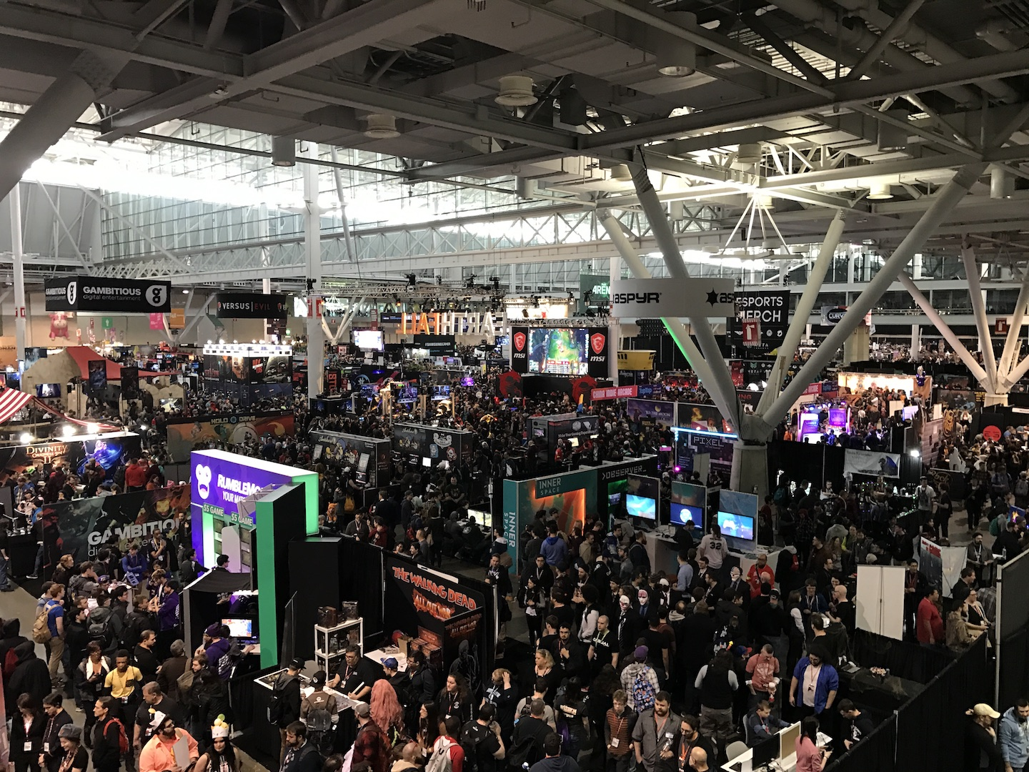 A Visual Look Back At PAX East 2017