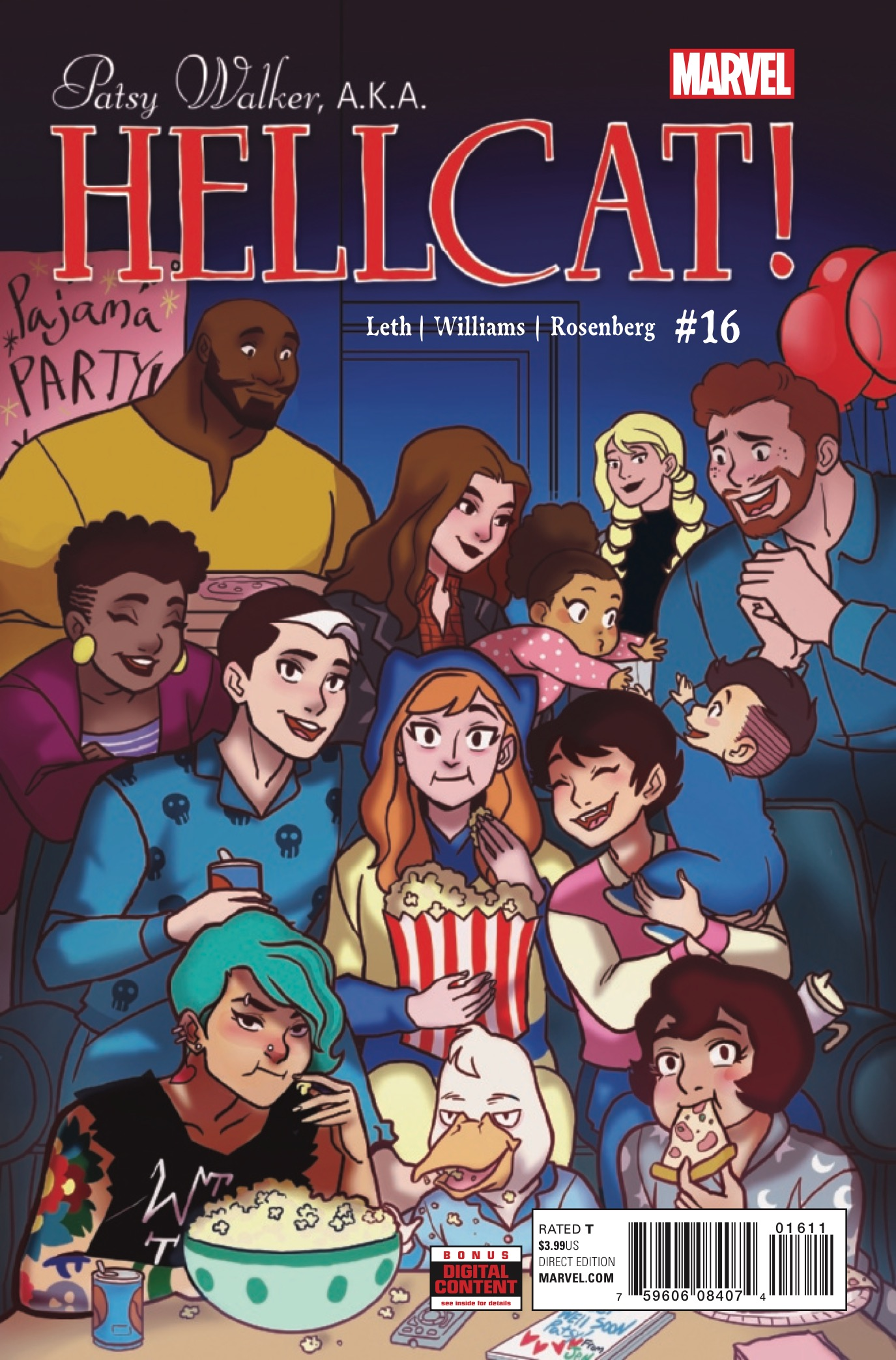 Marvel Preview: Patsy Walker, A.K.A. Hellcat! #16