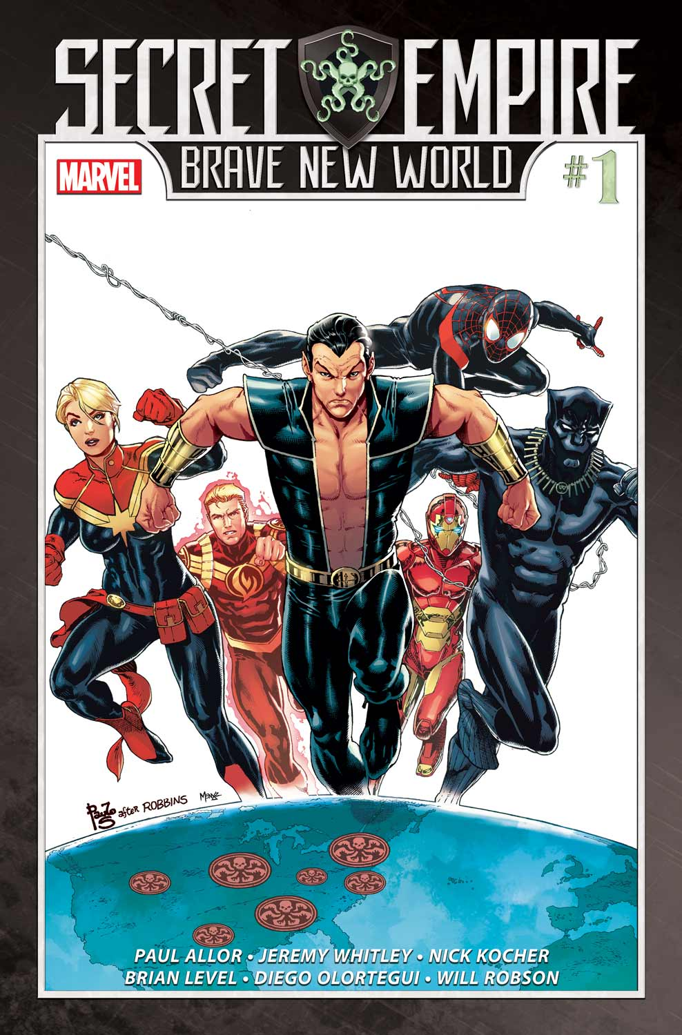 Marvel Preview: Secret Empire: Brave New World #1 and #2 Covers