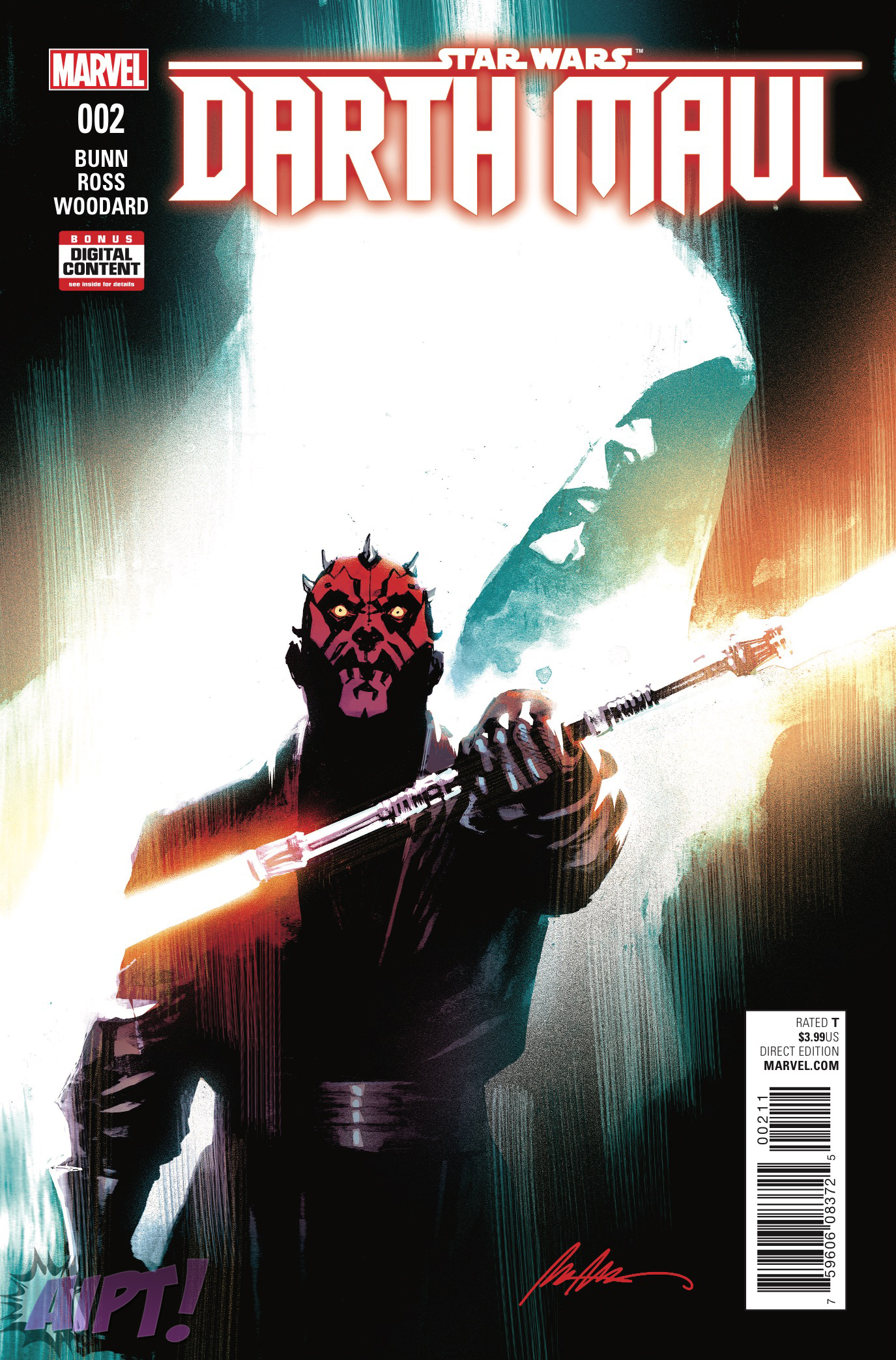[EXCLUSIVE] Marvel Preview: Darth Maul #2