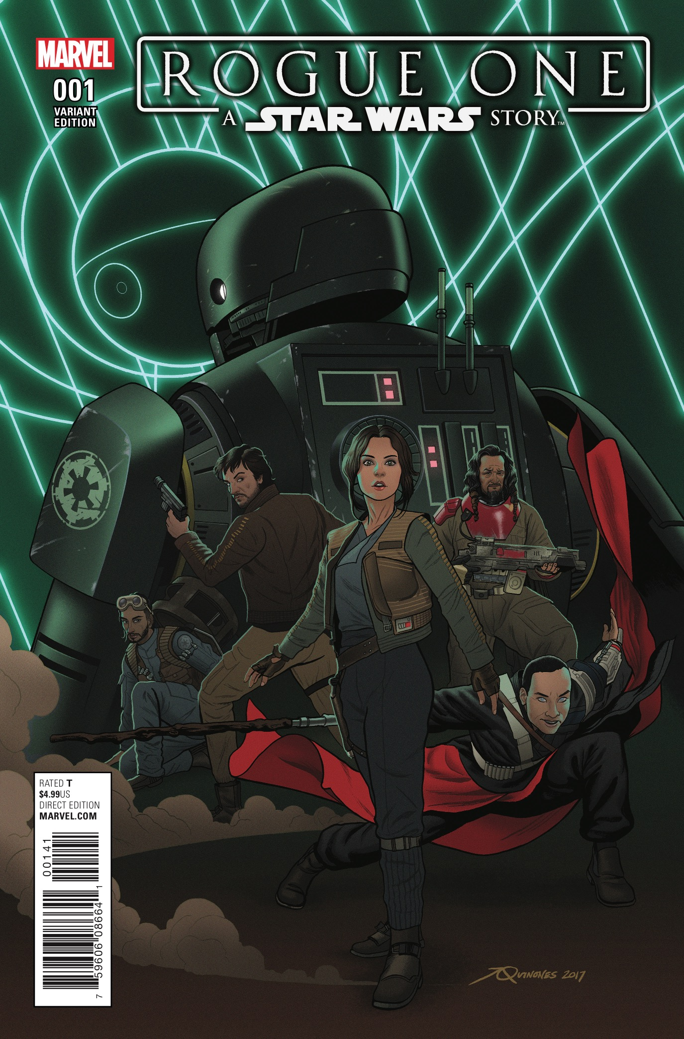 Marvel Preview: Star Wars: Rogue One Adaptation #1
