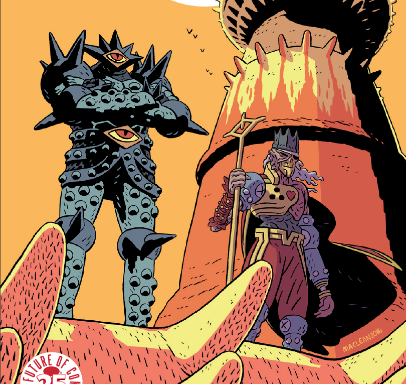 Chatting About 'Undead Witch Heads' With 'Head Lopper' Creator Andrew MacLean