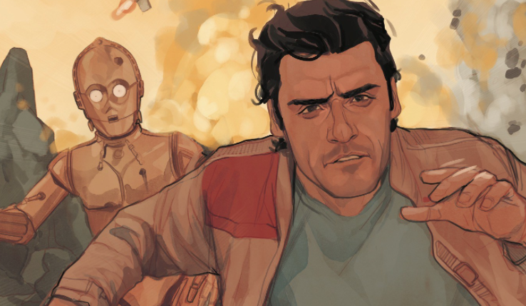 Poe is on the run from Terex's forces with only C-3PO and BB-8 to help him! Can the greatest pilot in the galaxy survive without a ship? PLUS: A traitor revealed?!