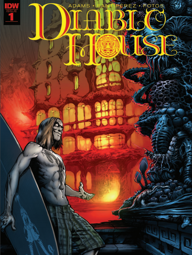 Diablo House #1 introduces readers to a new horror series and its premise. Created by a mix of new and veteran talent, the book reads like a love letter to its genre. Does that reverence translate into high quality work?