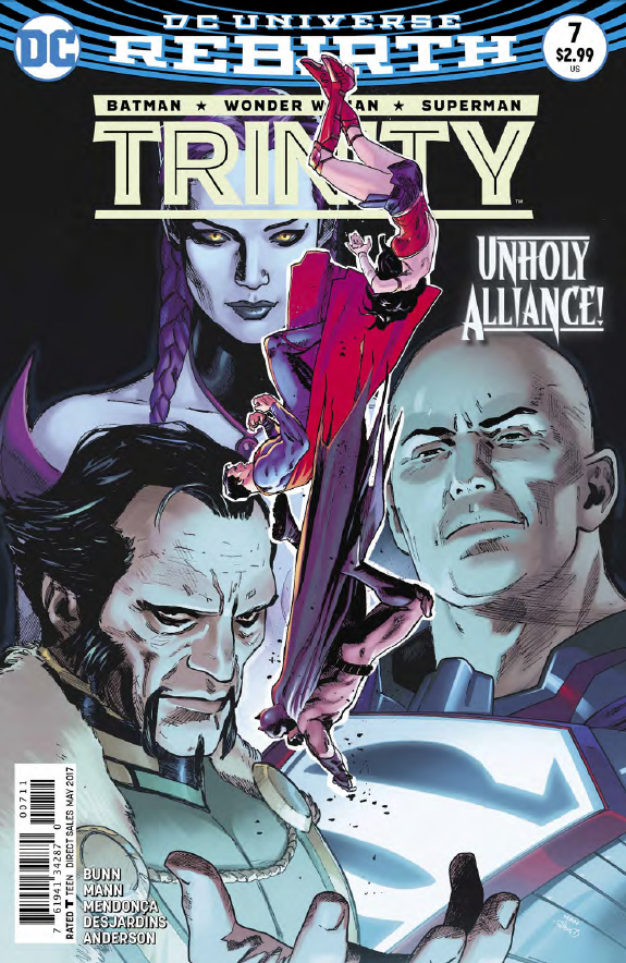 Trinity #7 Review