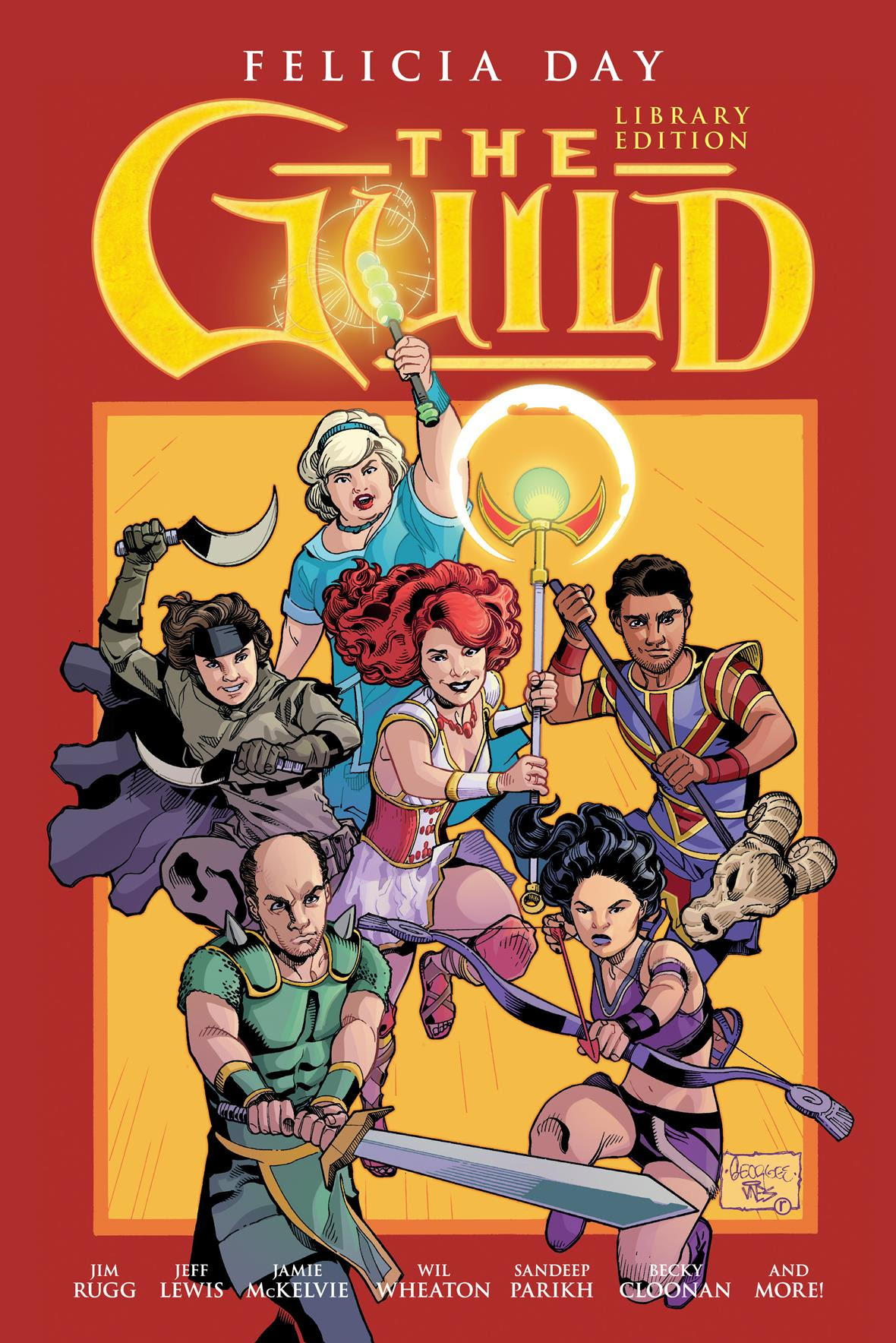 Dark Horse Preview: The Guild  Library Edition Volume 1 Hardcover